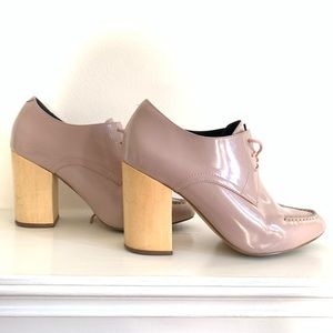 Dusty rose shoes